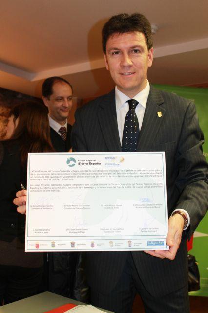 Sierra Espuña recibe un certificado europeo, que destaca al parque como lugar de excelencia en materia de turismo sostenible, Foto 1