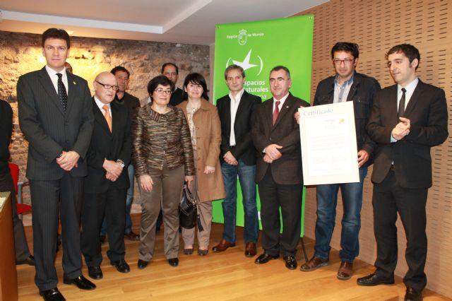 Sierra Espuña recibe un certificado europeo, que destaca al parque como lugar de excelencia en materia de turismo sostenible, Foto 2