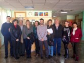 La Comisión especial de Discapacidad visita las residencias de discapacitados de Abanilla