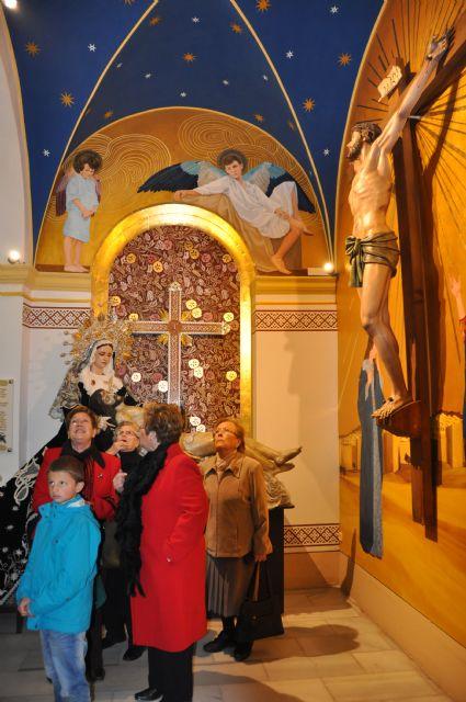 Inaugurada la nueva imagen de la Capilla del Santísimo Cristo de la Fe y María Santísima de la Piedad - 1, Foto 1