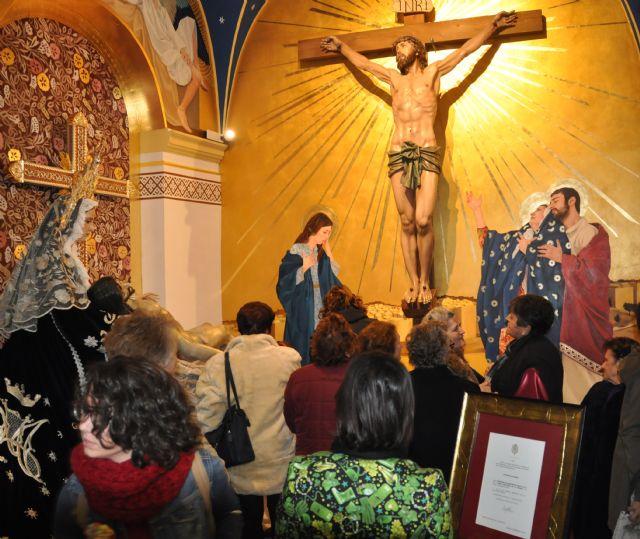 Inaugurada la nueva imagen de la Capilla del Santísimo Cristo de la Fe y María Santísima de la Piedad - 3, Foto 3