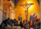 Inaugurada la nueva imagen de la Capilla del Santísimo Cristo de la Fe y María Santísima de la Piedad