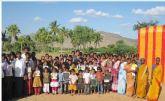 La aldea india de Sanevaripalli contará en octubre con una escuela gracias a la colaboración de Bomberos de Murcia