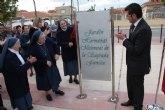 Inaugurado un jardín en Roldán en homenaje a las Hermanas Misioneras de la Sagrada Familia