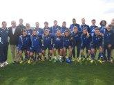 El concejal de Turismo visita a los equipos suizos sub 21 durante su estancia en San Pedro del Pinatar