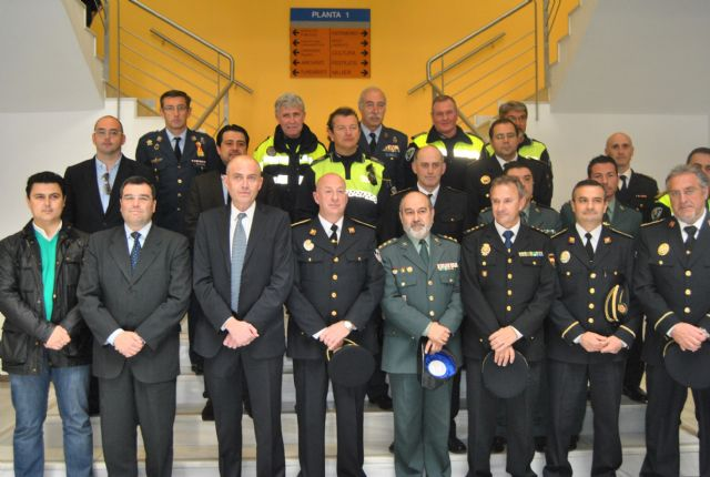 Salvador Angosto tomó posesión como nuevo Oficial Jefe de la Policía Local de San Javier - 1, Foto 1