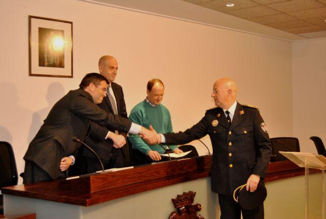 Salvador Angosto tomó posesión como nuevo Oficial Jefe de la Policía Local de San Javier - 2, Foto 2