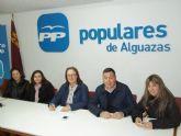 El nuevo Comité Ejecutivo Local del PP de Alguazas comienza su andadura