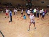 Los colegios 'Reina Sofia' y 'Santa Eulalia' participaron en la final regional alevín de jugando al atletismo de Deporte Escolar