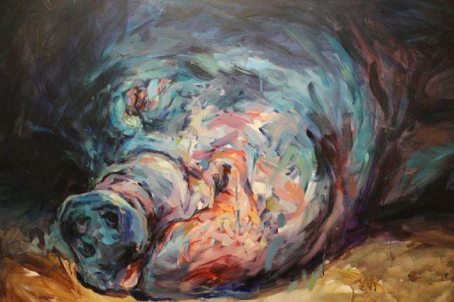 La exposición Placenta de Emilio Cerezo explora el tenebrismo en las Casas Consistoriales - 1, Foto 1
