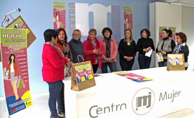 La campaña 'Marzo en Femenino' ofrecerá descuentos y promociones en más de 100 comercios de Puerto Lumbreras con motivo del Mes de la Mujer - 2, Foto 2