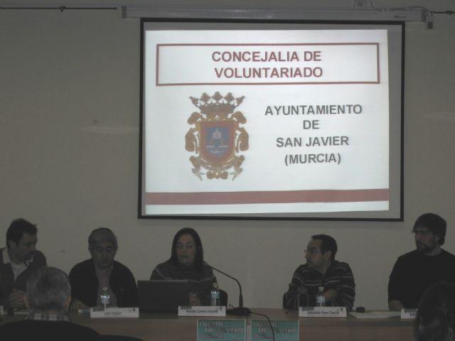 El Banco del Tiempo de San Javier en las Jornadas de Bancos de Tiempo, de Villena - 1, Foto 1
