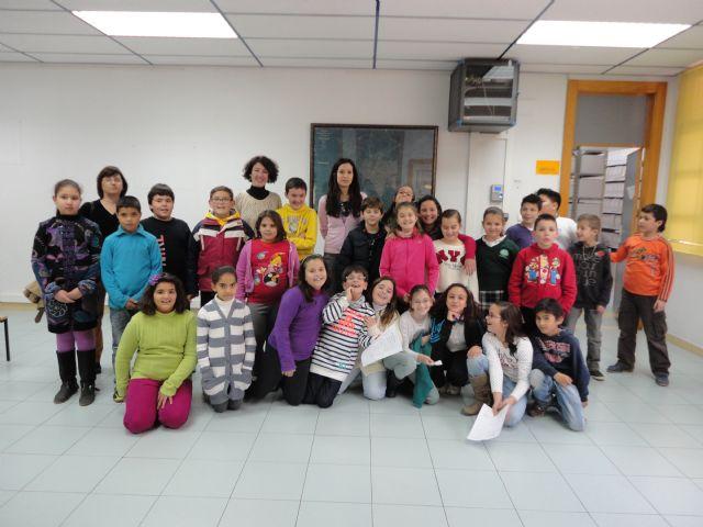 El Archivo Municipal recibe la visita de alumnos del Sierra Espuña, Foto 1