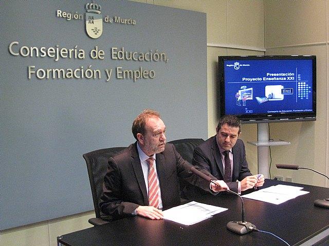 Educación introduce la enseñanza digital en 25 institutos de la Región de Murcia - 1, Foto 1