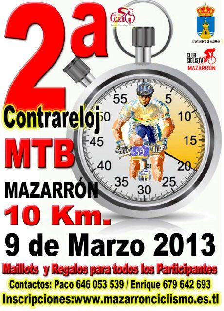 La V marcha MTB de Mazarrón recorrerás las calas de Bolnuevo el domingo 10 de marzo - 2, Foto 2