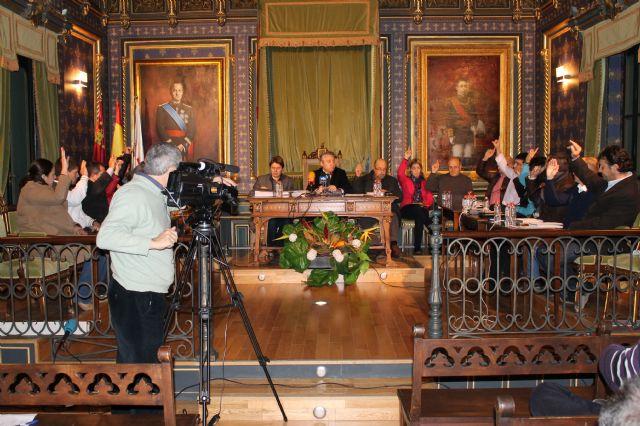 El Pleno aprueba la revisión de los valores catastrales en Mazarrón - 1, Foto 1