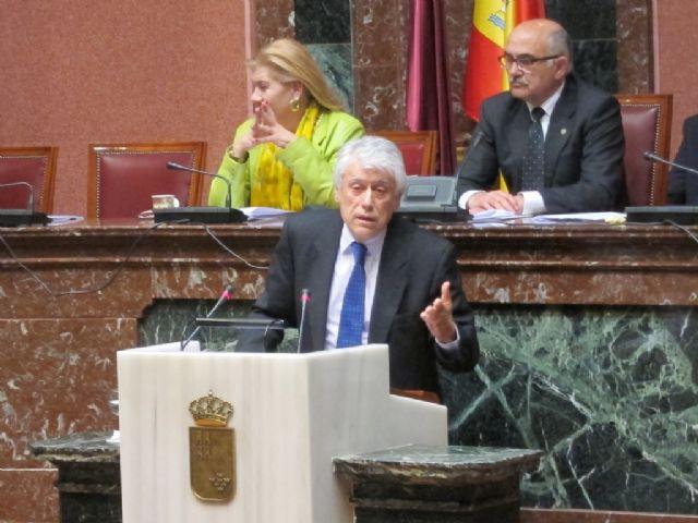 Guillamón: Somos partidarios del soterramiento pero en este momento no hay presupuesto para hacerlo - 1, Foto 1