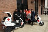 Cruz Roja pone en marcha dos nuevas unidades móviles eléctricas para acudir en la ayuda de personas mayores