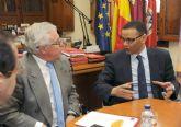 Visita del director del Instituto Egipcio de Estudios Islámicos