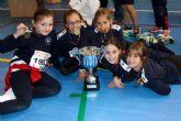 El colegio La Vaguada, campeón regional de Atletismo en categoría benjamín femenino