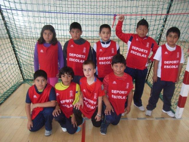 La concejalía de Deportes organizó la segunda jornada de la fase local de multideporte benjamín de Deporte Escolar - 1, Foto 1