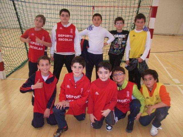 La concejalía de Deportes organizó la segunda jornada de la fase local de multideporte benjamín de Deporte Escolar - 3, Foto 3