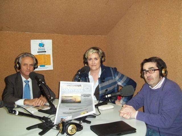El Club Senderista ¡¡Despacico, que no llego¡¡ marcha por Alguazas Radio 87.7 FM - 1, Foto 1
