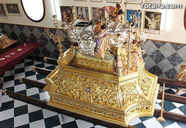 El próximo domingo se bendecirá el nuevo trono con el que procesionará la Hermandad de Nuestra Señora de los Dolores - 1, Foto 1