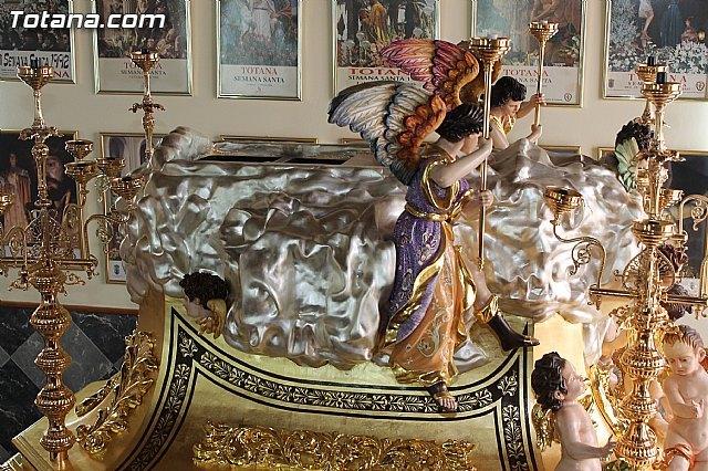 El próximo domingo se bendecirá el nuevo trono con el que procesionará la Hermandad de Nuestra Señora de los Dolores - 3, Foto 3
