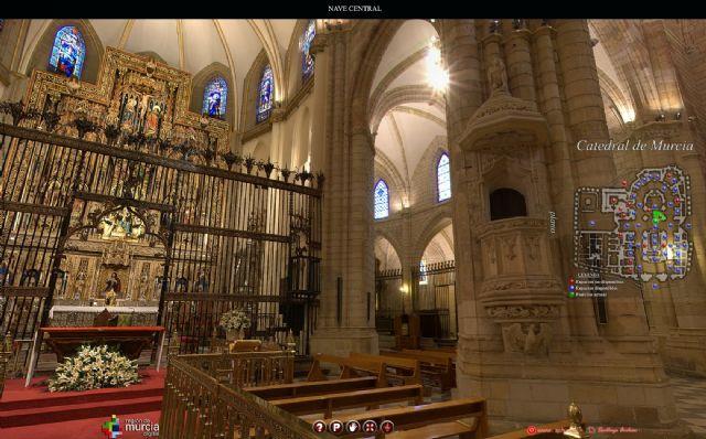 Una aplicación ´online´ permitirá conocer la Catedral de Murcia al detalle - 1, Foto 1