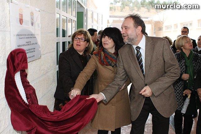 Sotoca inaugura en Totana el nuevo colegio La Cruz, en el que la Comunidad ha invertido más de tres millones de euros - 1, Foto 1