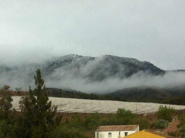 Llegan las primeras nieves del invierno a Sierra Espuña - 1, Foto 1
