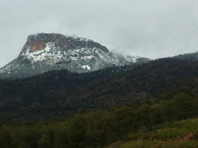 Llegan las primeras nieves del invierno a Sierra Espuña - 2, Foto 2
