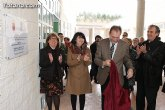 """El consejero de Educación inaugura el nuevo colegio """"La Cruz"""", construido en la urbanización """"la Ramblica"""""""