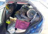 La Guardia Civil detiene a los presuntos autores de dos robos en naves industriales