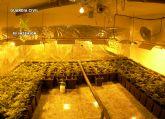 La Guardia Civil desmantela un invernadero subterráneo de marihuana en Sangonera la Seca-Murcia