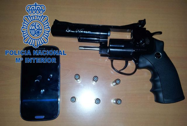 La Policía Nacional detiene al autor de un robo con intimidación y uso de arma de fuego simulada - 1, Foto 1