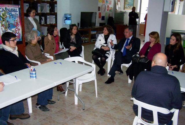 La Comisión de Discapacidad de la Asamblea Regional visita Águilas - 1, Foto 1