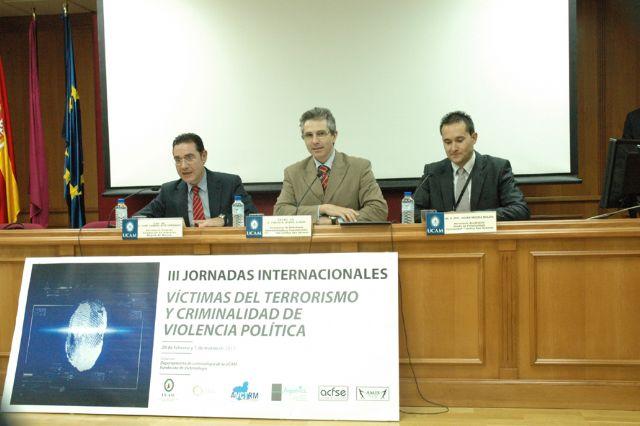 La UCAM clausura las III Jornadas del Terrorismo - 1, Foto 1
