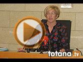 Rueda de prensa PSOE Totana, valoración Pleno febrero 2013