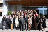 Las 32 candidatas a Reina de los Mayores 2013 inician la jornada de convivencia con el tradicional desayuno junto al Alcalde