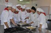 Demostración de habilidades de los alumnos de Hostelería y Turismo
