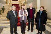 La alcaldesa recibe a las Asociaciones de Mayores de Murcia