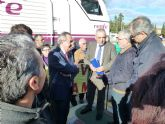 Rafael Simancas reclamará a la ministra de Fomento que 'cumpla con los murcianos su compromiso de soterrar el AVE'