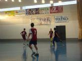 Los jugadores de fútbol-sala y balonmano del IES 'Villa de Alguazas' se alzan victoriosos en la segunda jornada de la Intermunicipal de Deporte en Edad Escolar