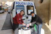 800 kilos de tapones solidarios para Eva Gim�nez Reinaldos