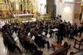 La Banda de M�sica de la Hermandad de San Juan Evangelista ofrece un concierto en la Parroquia de Santiago