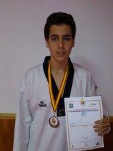 Taekwondistas pachequeros obtienen medallas de plata y bronce en el Campeonato de España Sub-21