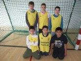 Comienza la fase local de futbol sala alevín de Deporte Escolar, organizada por la concejalía de Deportes