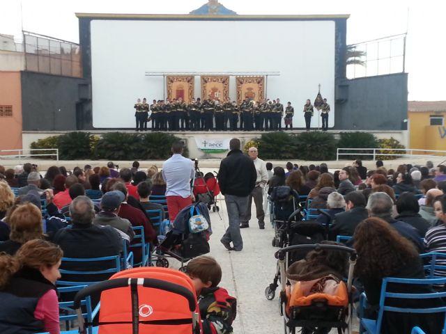 Mula, Alguazas, Abarán y OJE y Cruz de los Espejos de Archena, en el II Encuentro de Bandas de Tambores y Cornetas - 1, Foto 1